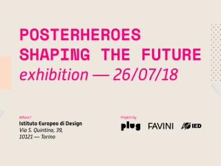 naandeyeah en San Marino, Italia. Posterheroes Exhibition