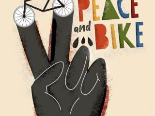 Peace And Bike