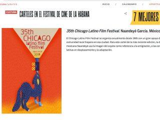 7 MEJORES Carteles en el Festival de Cine de La Habana